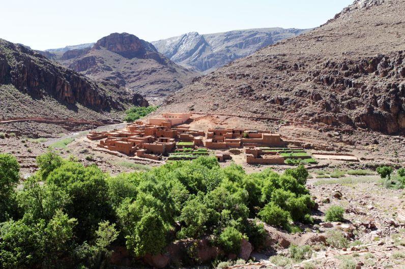Djebel Saghro: Villages et Oasis